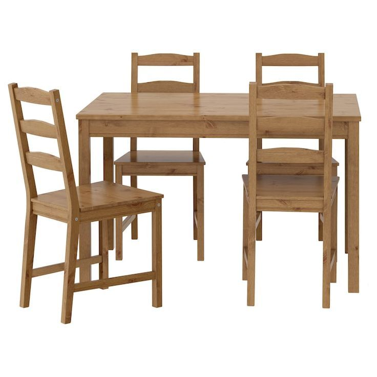 Ikea Jokkmokk Antique Stain Table And 4 Chairs Ikea Kuchenideen Kuchentisch Rund Esstisch