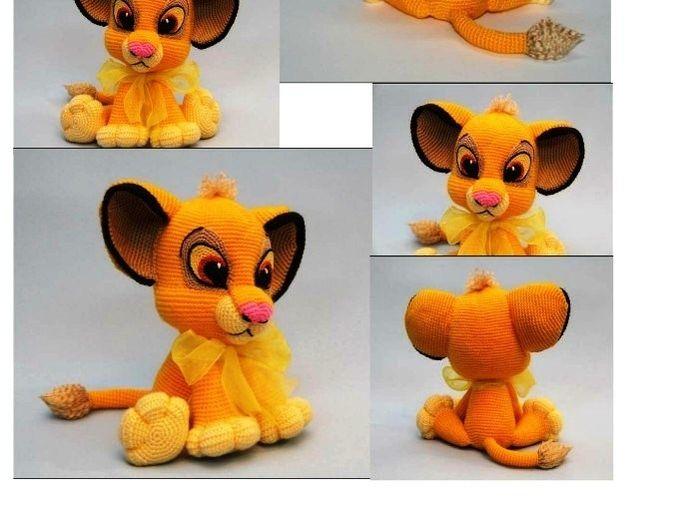 Lion King Amigurumi : y9 (700x513, 174Kb) munecos ganchillo Pinterest ...