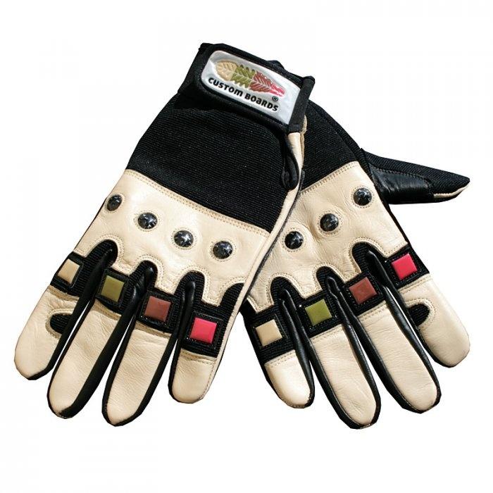 Custom longboard gloves!