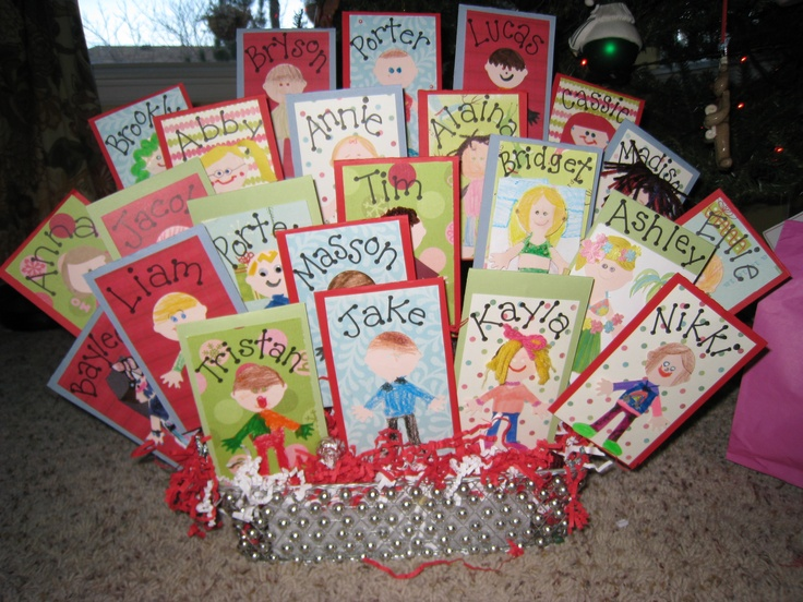 Classroom Gift Ideas ~ Awesome teacher gift idea my daughters class did this a