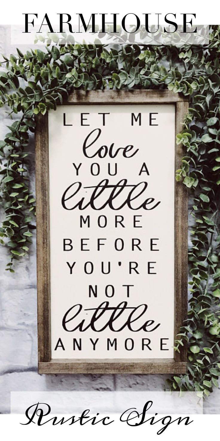 Amazing Farmhouse Style Wood Sign ad These