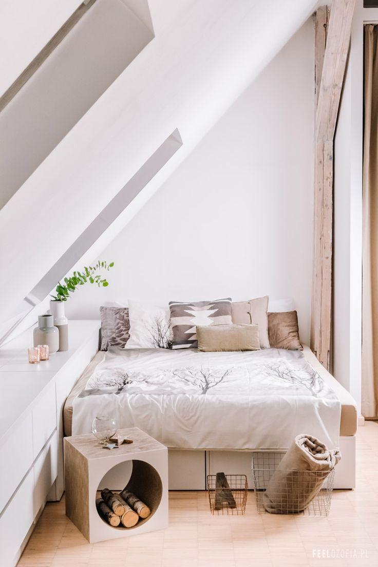 Sypialnia uspakajająca :-) Ostatnia część z serii stylizowania tej samej sypialni w 3 różnych stylach! | Feelozofia