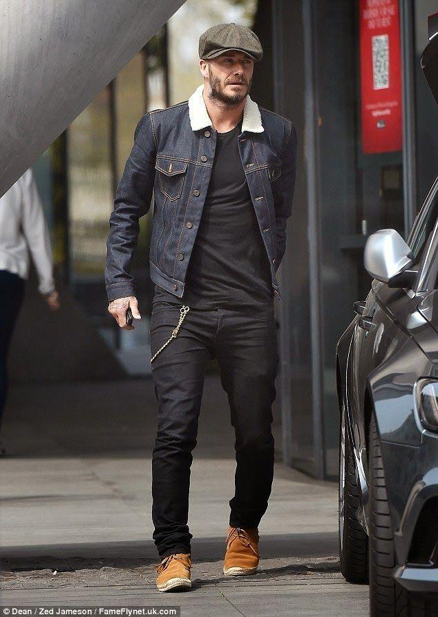Wear It Like Beckham: #DavidBeckham #HediSlimane #SaintLaurent #FashionBlogg #StyleBlogg
