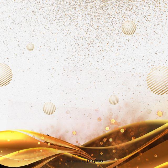 Element Originality Fashion Line Decorate Golden