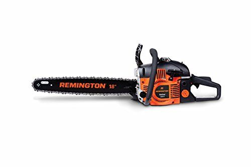http://picxania.com/wp-content/uploads/2017/09/remington-rm4618-outlaw-46cc-18-inch-gas-chainsaw.jpg - http://picxania.com/remington-rm4618-outlaw-46cc-18-inch-gas-chainsaw/ - Remington RM4618 Outlaw 46cc 18-inch Gas Chainsaw -   Price:    Engineered with advanced power to cut through wood quickly, the RM4618 Outlaw gas powered chainsaw also features a 46cc engine and premium 18″ bar and low-kickback chain for all-around superior performance. The robust side-access tens