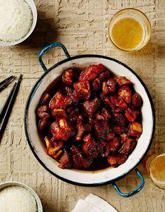 Kiinalainen karamellipossu eli hong chao rou   Soppa365