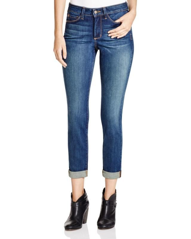 Found! The Best Boyfriend Jeans for Your Body Type: Fuller Thighs: Try Straight Boyfriend Jeans