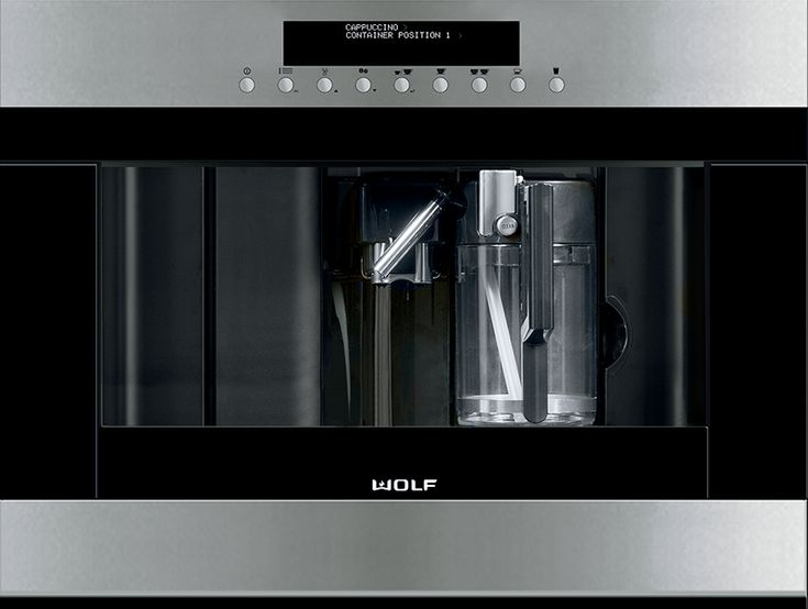 Subzero wolf new generation Wolf coffee maker 10 Kitchen Innovations for Improving your New Generation Home