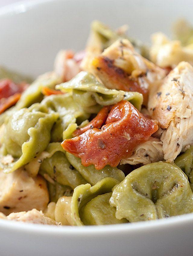 Caesar Chicken Tortellini Recipe