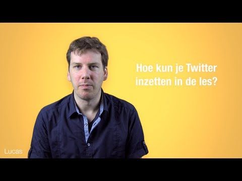 Hoe kun je Twitter inzetten in de les? - YouTube