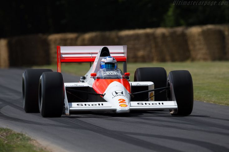 McLaren MP4/5 Honda (Chassis MP4/5-5 - 2015 Goodwood Festival of Speed) High Resolution Image
