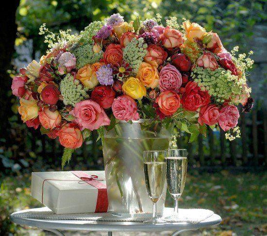 Bello arreglo floral