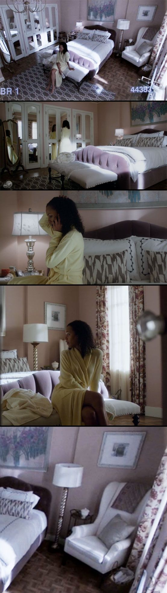 set design on scandal olivia popes apartment and office bedroomravishing aria leather office