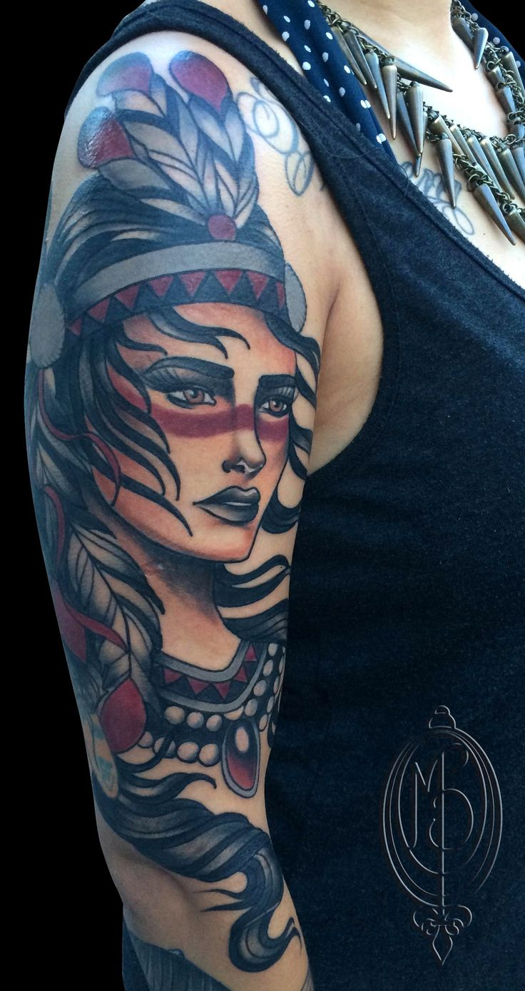 26 best images about tattoos by monique peres on pinterest for Indian woman tattoo