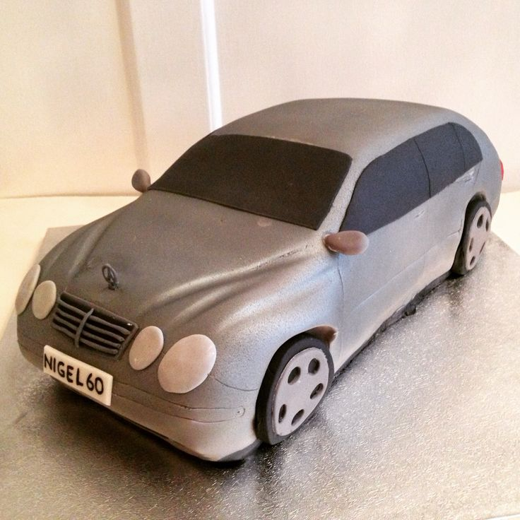 84 best images about car cakes on pinterest mercedes for Mercedes benz cake design