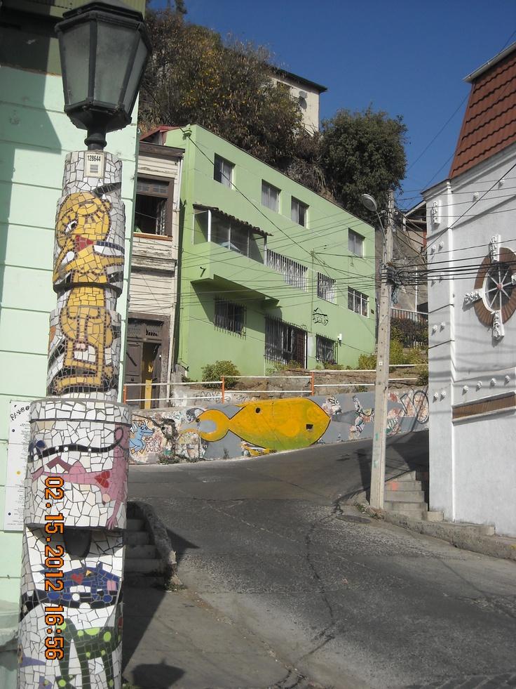 Cerro Bellavista, Valparaíso, Chile