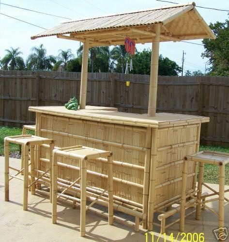 50 best images about tiki bars on pinterest backyards bar and outdoor tiki bar - Bamboo bar design ideas ...