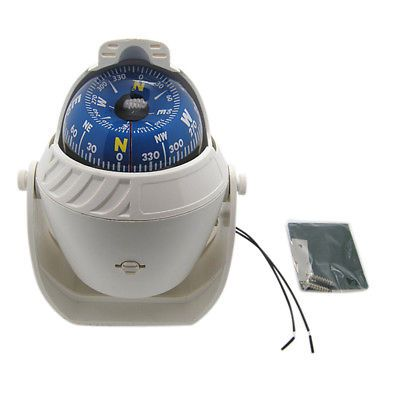 Outdoor LED Light Electronic Vehicle Car Navigation Sea Marine Boat Ship Compass
