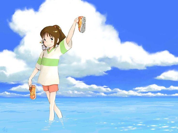 /Ogino Chihiro/#34264 - Zerochan | Spirited Away | Hayao Miyazaki | Studio Ghibli