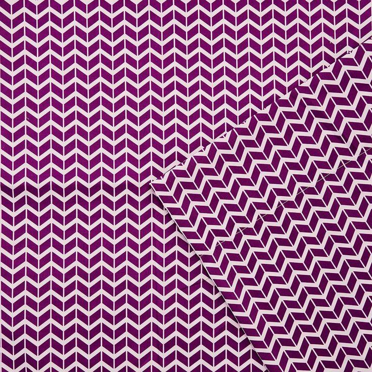 Intelligent Design Chevron Sheets, Purple Twin Xl