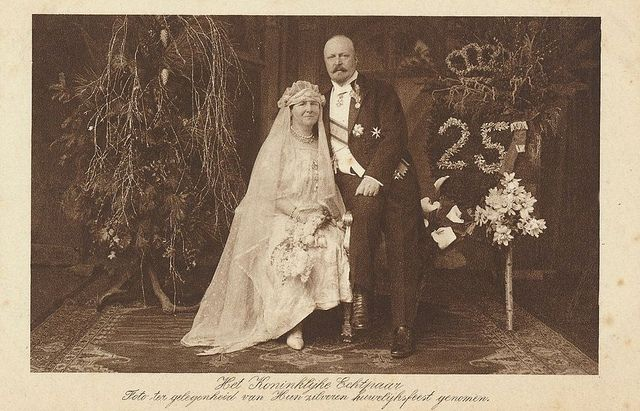 All sizes | 1926 Silver Wedding Jubilee Queen Wilhelmina and Prince Hendrik of the Netherlands | Flickr - Photo Sharing!