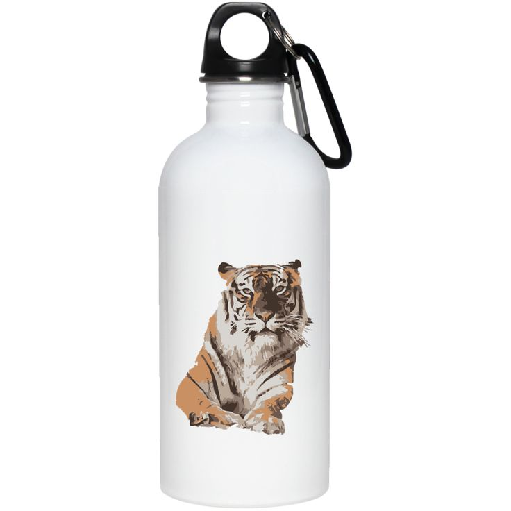 Amanda Tigress 20 oz Stainless Steel Water Bottle