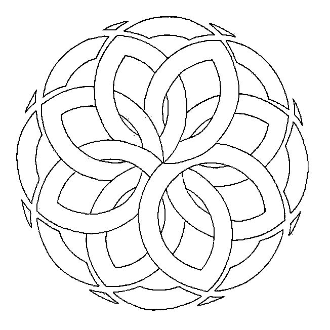441 best Mandala images on Pinterest Mandala coloring, Mandalas