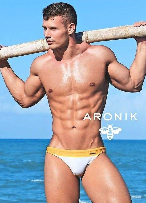Gay underwear photoshoot