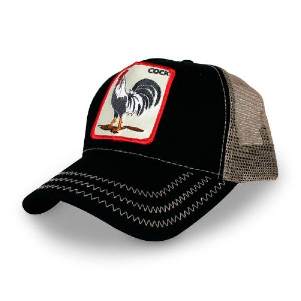 rossignol rooster baseball cap hat cotton bros shop
