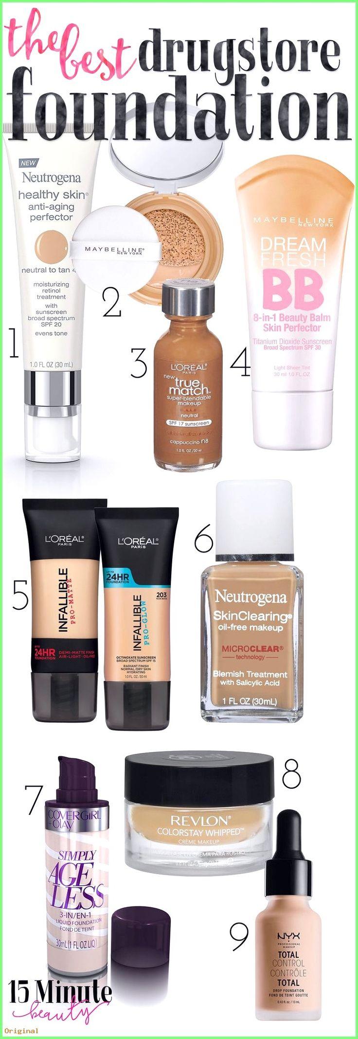 50+ Hautpflege – Die besten Drogerie BB Cremes und Stiftungen #beautyhacks #hausgemachteSch�…