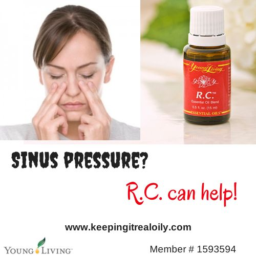 r.c. For sinus pressure. Apply to forehead and cheekbones  www.keepingitrealoily.com(5)