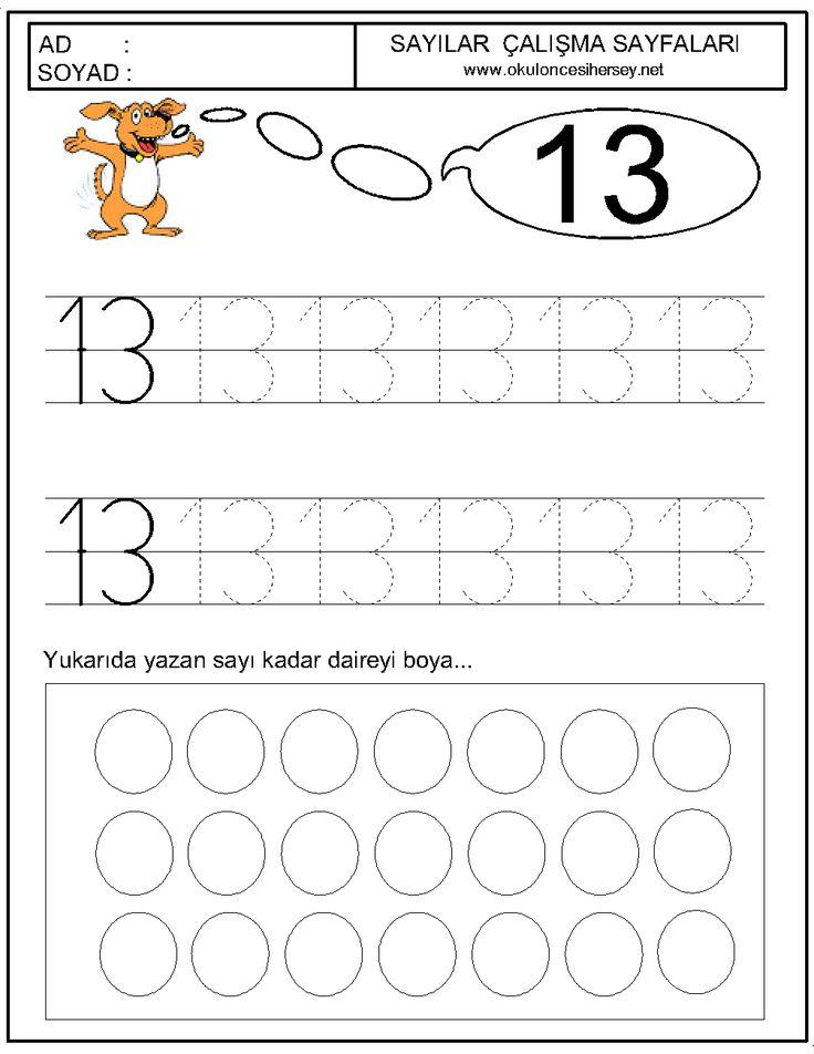 13 sayısı okul öncesi çalışmaları - Google'da Ara
