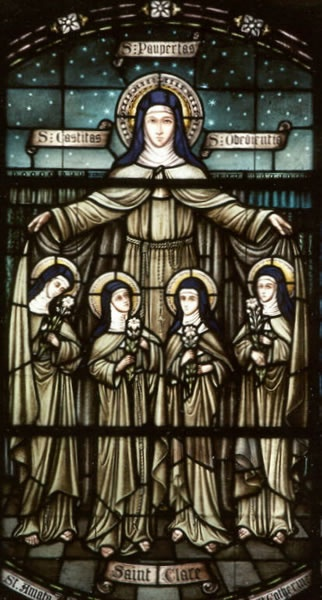 St. Clare and her sisters Monastery of Saint Clare  1271 Langhorne-Newtown Road  Langhorne, PA  19047-1297