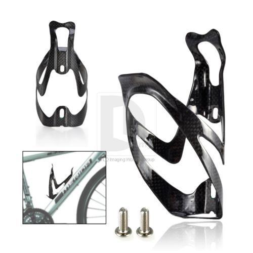 RST-BC Cycling Bicycle Bike Carbon Fibre Water Bottle Cage Holder + 2x Screw | eBay