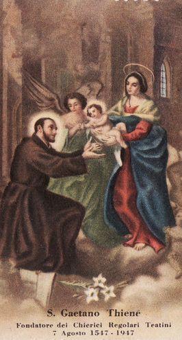 Prayers to San Gaetano