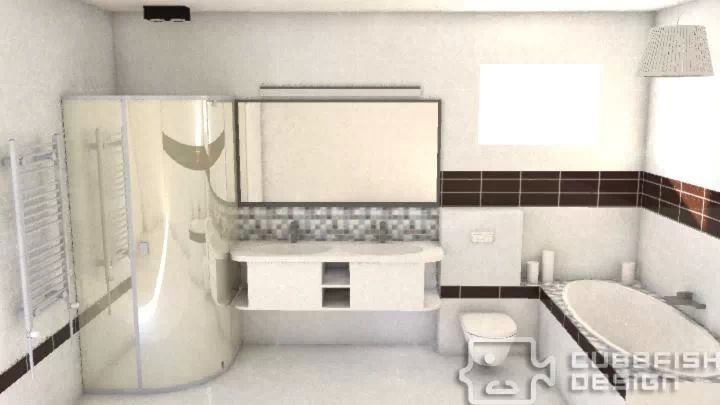 Bathroom plan