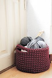 Ravelry: Basket crochet pattern by lauguina siuke