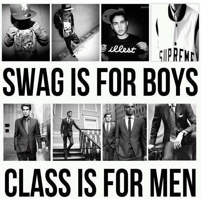 ;) I want a classy man