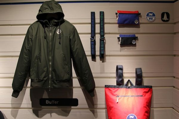 #North #Sails #Pitti #Immagine #Man #2014 #2015 #Fall #Winter #Buffer #jacket #bag #belt