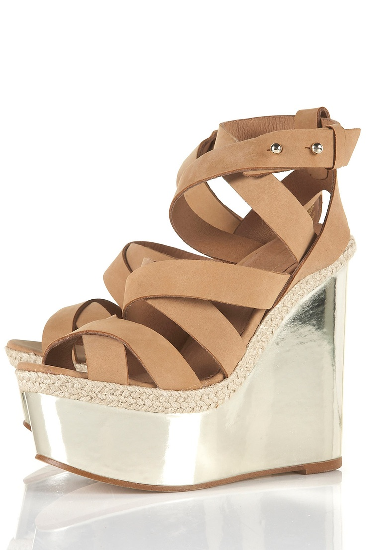 want!: Tans Strappy, Strappy Wedges Topshop, Wicked Tans, Ace Style, Wicked Wedges, Wedges 176, Sandals, Strappy Wedgestopshop, Closet