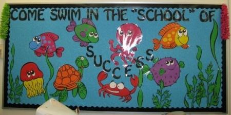 Great bulletin board idea for beginning of year