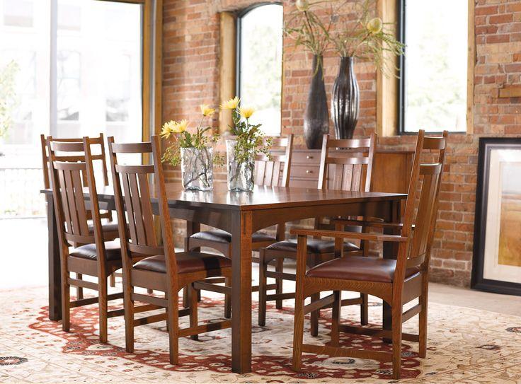 Stickley Harvey Ellis Table Dining Room FurnitureDining