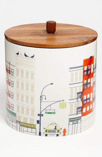 'hopscotch drive about town' large canister