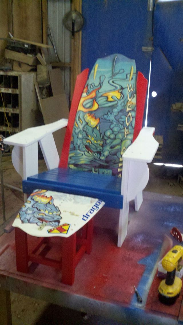 Wakeboard chair