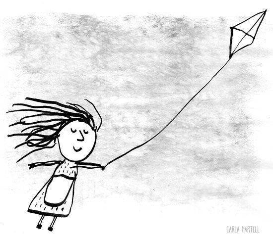 Kite girl | Carla Martell