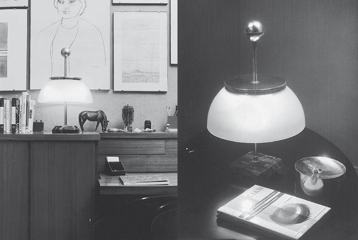 #Alfa, the first Artemide lamp ! #design Sergio Mazza  ► http://bit.ly/AlfaTavolo