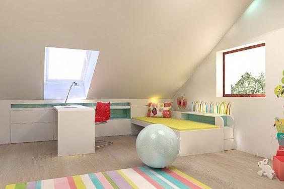 dětský pokoj s šikminou - Hledat Googlem