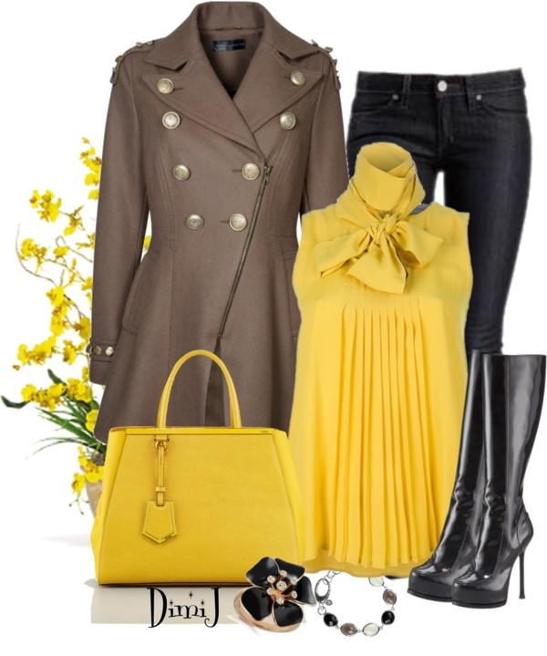 """""""All Dressed up in Jeans"""" by dimij on Polyvore"""