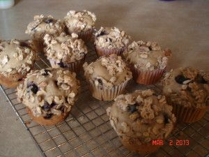 Blueberry Oatmeal- Streusel Muffins | Tasty Kitchen: A Happy Recipe ...