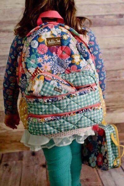 Matilda Jane amaryllis backpack. Fall 2016 Once upon a time